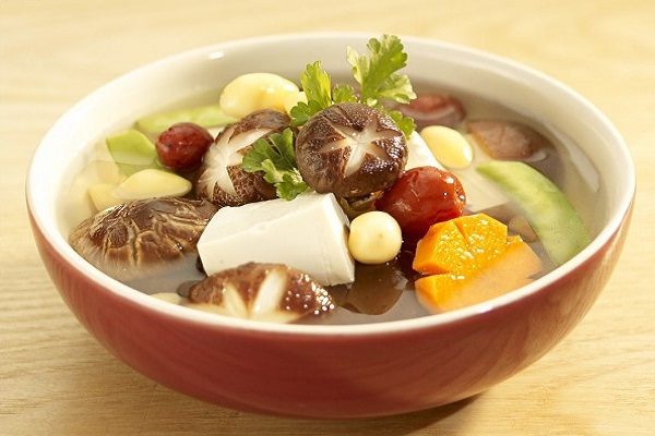 canh gừng chay